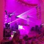 Oświetlenie podczas wesela